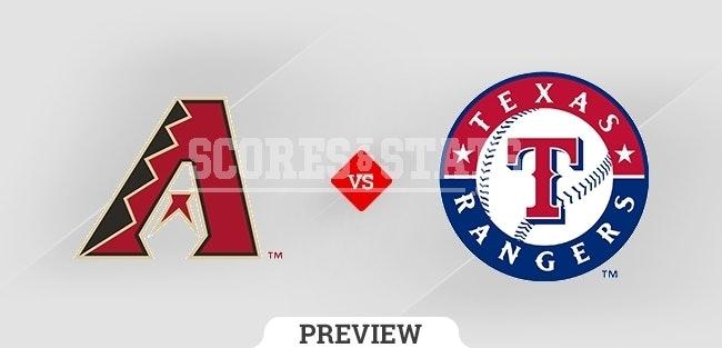 Pronostico Rangers vs Diamondbacks