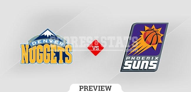 Palpite Phoenix Suns vs. Denver Nuggets 20 Oct 2021
