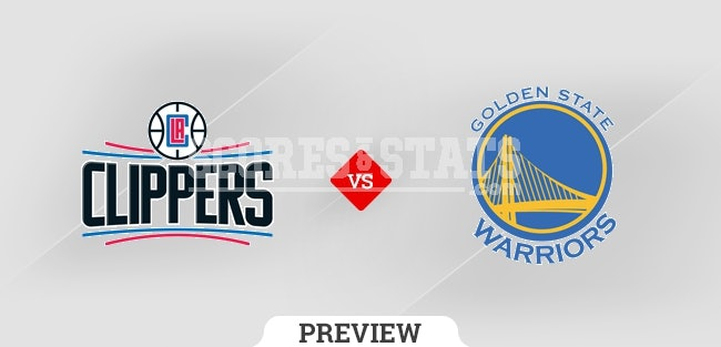 Palpite Golden State Warriors vs. Los Angeles Clippers 21 Oct 2021