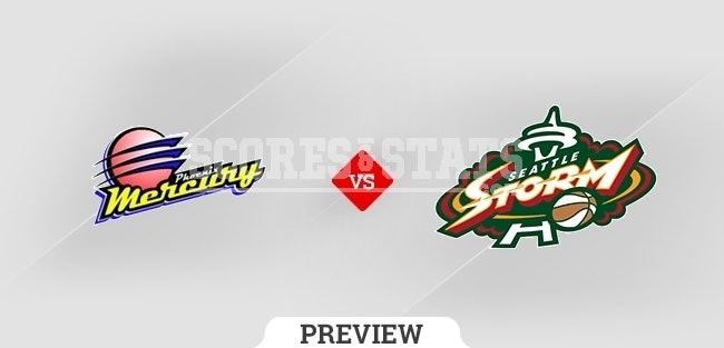 Phoenix Mercury vs. Seattle Storm Pick & Prediction SEP 26TH 2021
