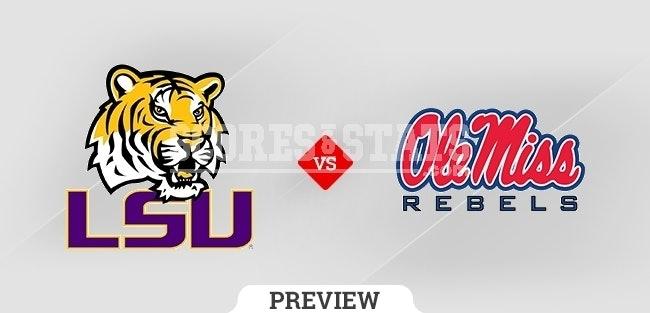 Palpite Mississippi Rebels vs. Louisiana State Tigers 23 Oct 2021