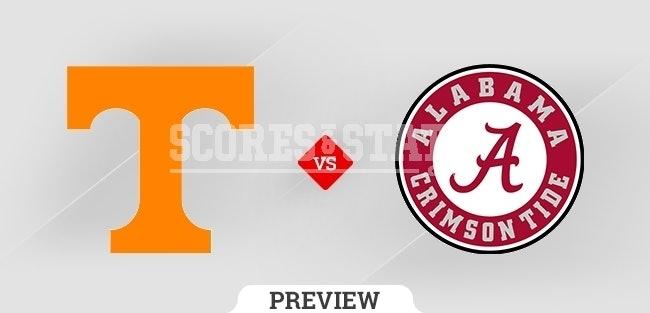 Palpite Alabama Crimson Tide vs. Tennessee Volunteers 23 Oct 2021
