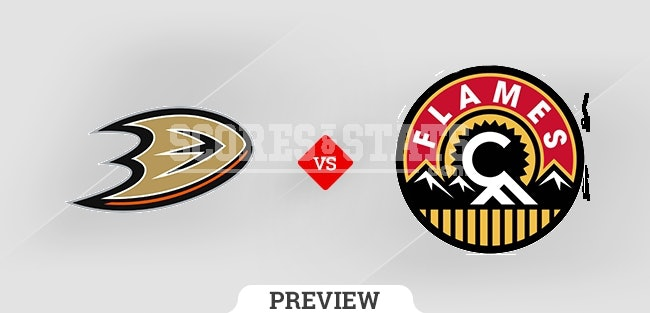 Anaheim Ducks vs. Calgary Flames Pick & Prediction OCT 18TH 2021