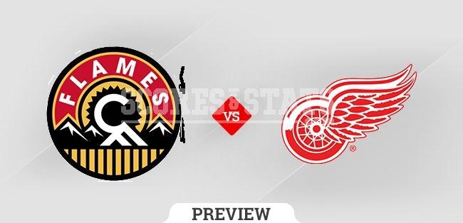 Palpite Detroit Red Wings vs. Calgary Flames 21 Oct 2021