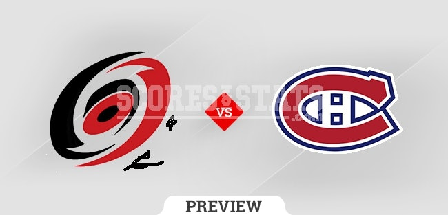 Palpite Montreal Canadiens vs. Carolina Hurricanes 21 Oct 2021