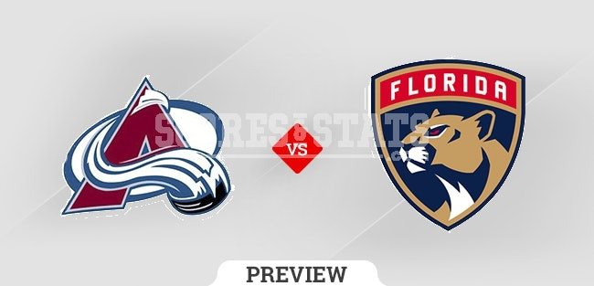 Palpite Florida Panthers vs. Colorado Avalanche 21 Oct 2021