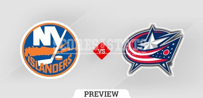 Palpite Columbus Blue Jackets vs. New York Islanders 21 Oct 2021