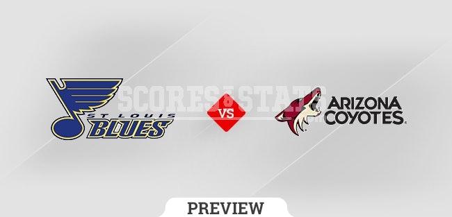 St. Louis Blues vs. Arizona Coyotes Pick & Prediction OCT 18TH 2021