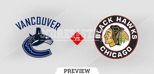 Palpite Chicago Blackhawks vs. Vancouver Canucks 21 Oct 2021